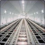 Picture of the Main Cargo Deck of a Boeing 747-400F