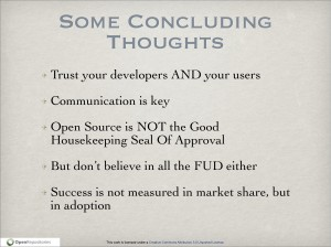 Slide 50 of Open Source: It's Not Just for IT Anymore