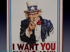 "Picture: ""I Want You for U.S. Army"" by James Montgomery Flag"